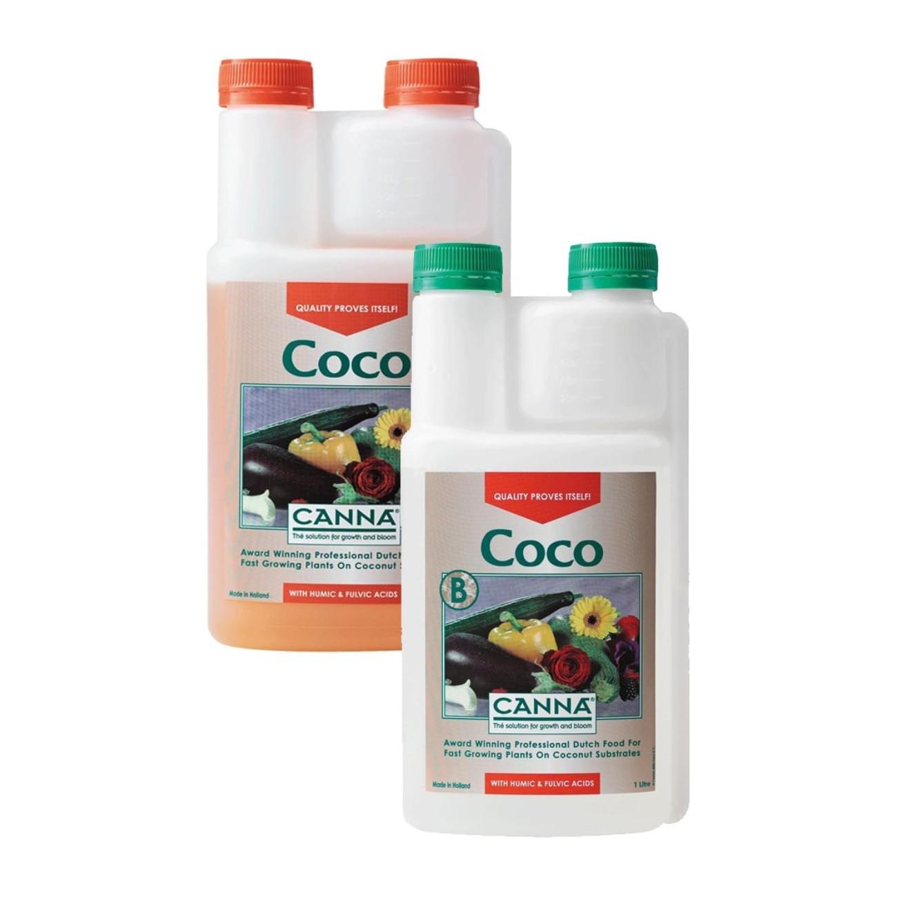 Canna Coco A & B nutrients
