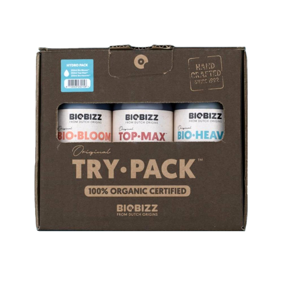 Biobizz Try-Pack Hydro
