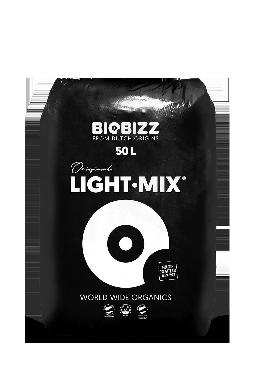 BIOBIZZ Light Mix 50L Organic Soil Potting Compost Hydroponics Growing