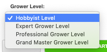 Advanced Nutrients Calculator - Grower Level Bloom phase