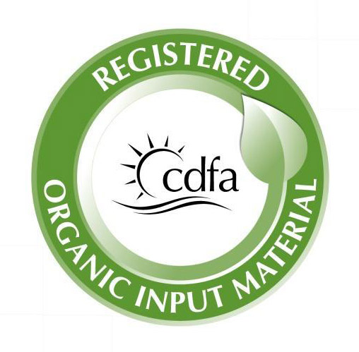 California's Organic Input Material (OIM) Program logo