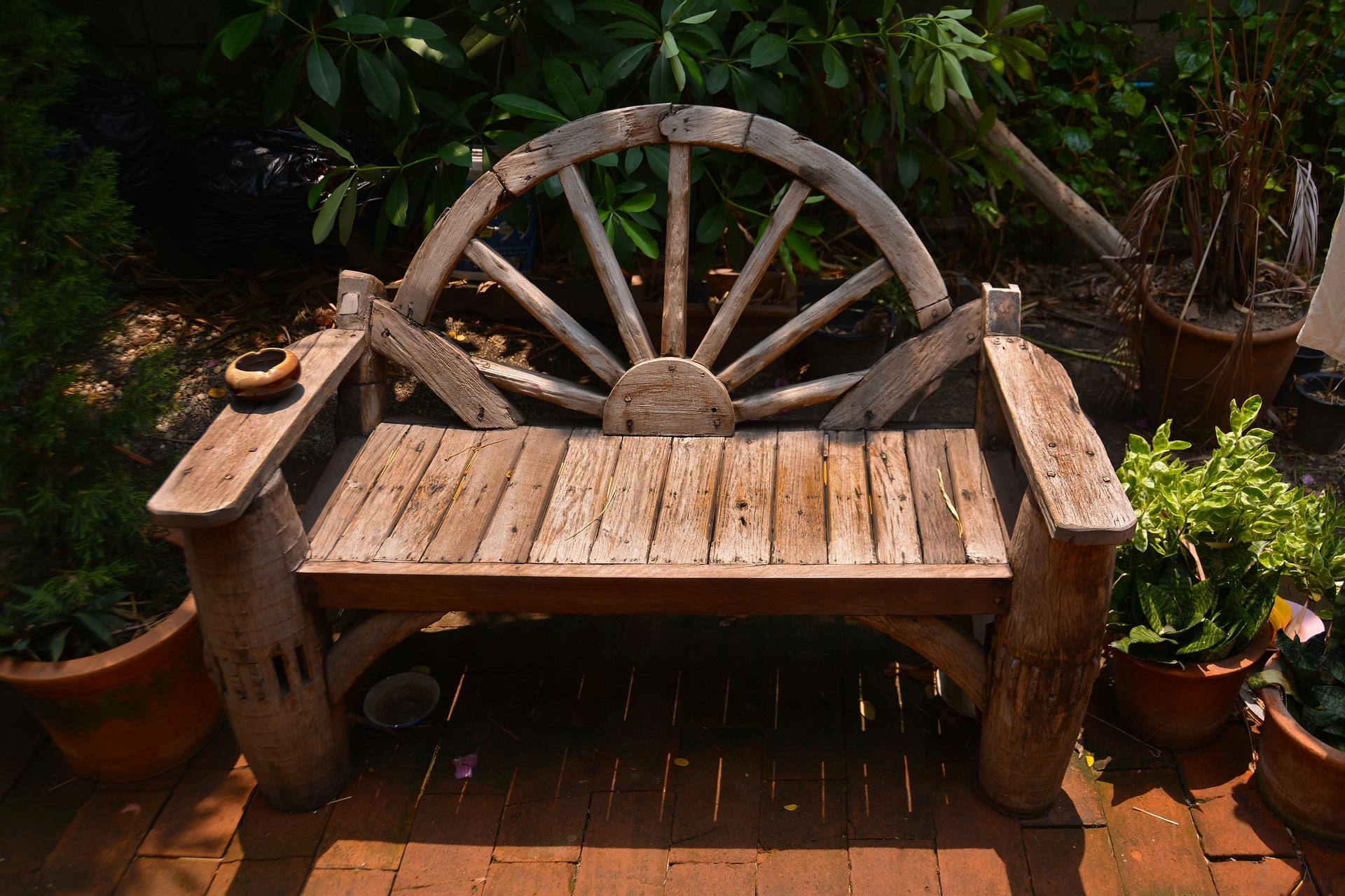 Rustic garden furniture 2020