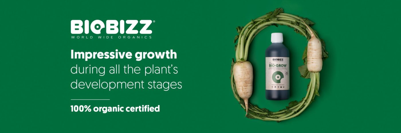Biobizz Bio-Grow : 100% Organic Fertiliser