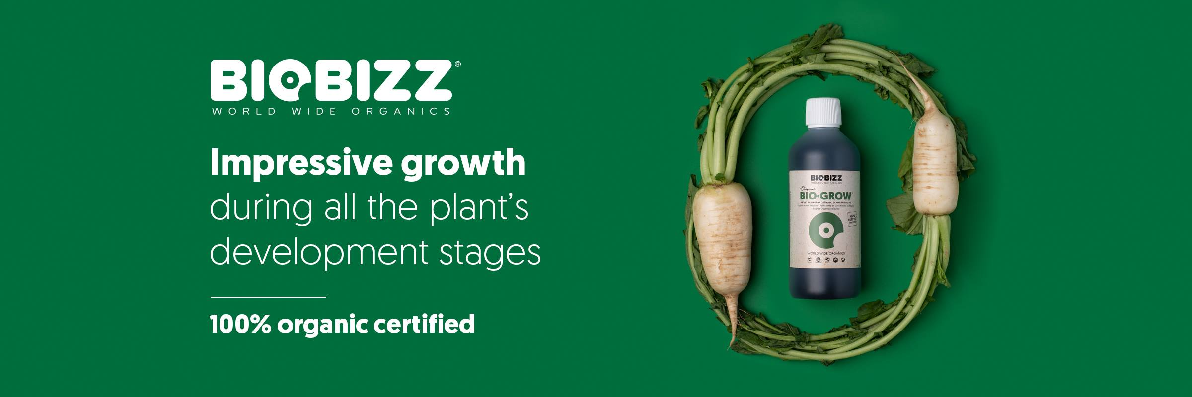 Biobizz Bio-Grow : 100% Organic Fertiliser