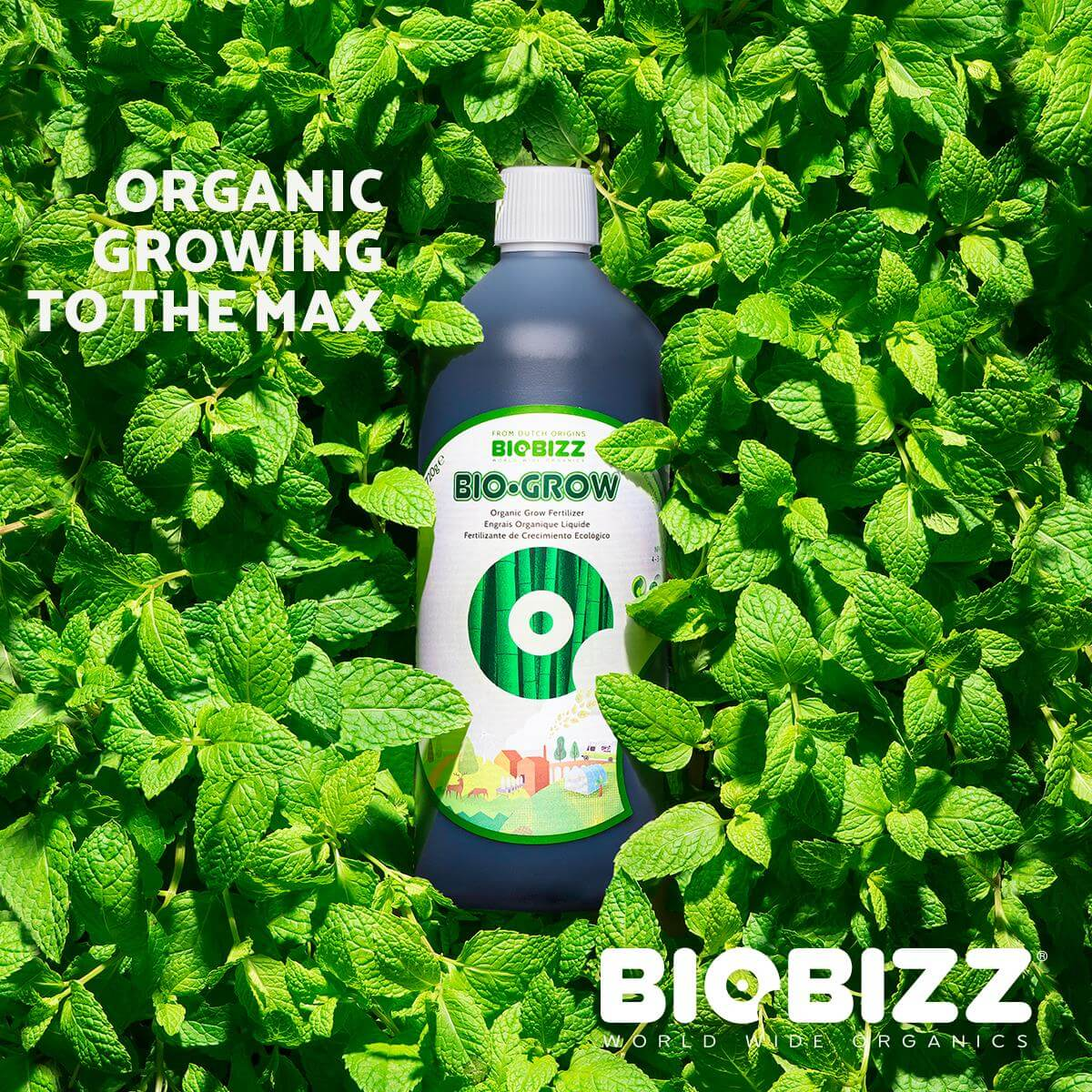 Bio-Grow organic growing to the max by Biobizz