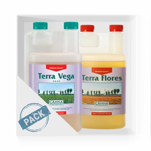 Canna Terra Vega Flores Pack1l
